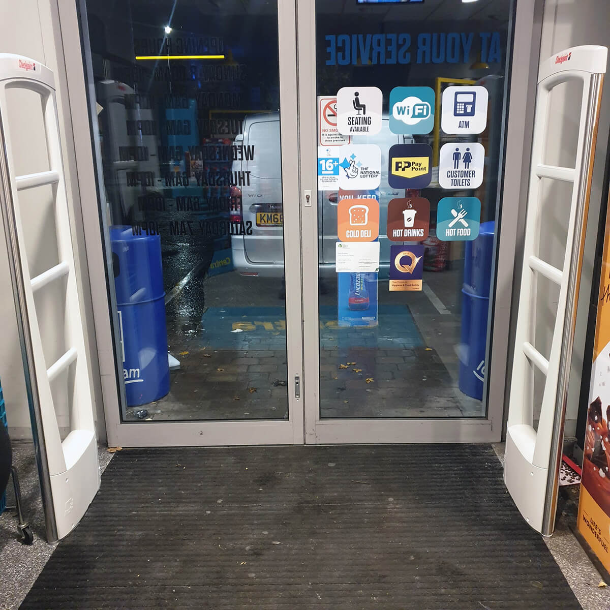 Theft Prevention with security antennas and EAS Tags at Centra Craigavon